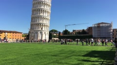 Pisa Miracles Square Sun ED Stock Footage