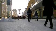 Russia - Yekaterinburg - st. Weiner Stock Footage