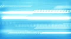 Blue dynamic abstract motion background. Stock Footage