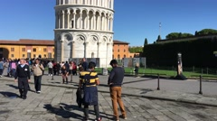 Pisa Miracles Square Sun ED - stock footage