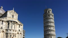 Pisa Miracles Square Sun - stock footage