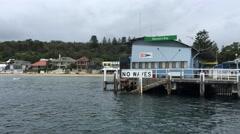 Sydney Watsons Bay Pier ED Stock Footage