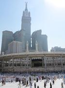 Journey to Hajj in Mecca 2013 Stock Photos