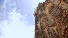 Cologne Cathedral in Germany Stock Footage