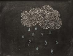 Rain and cloud Stock Photos