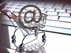 Stock Illustration of E Commerce