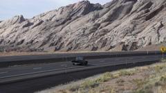 Interstate 70 in southern Utah - stock footage