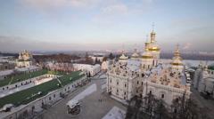 Ukraine, Kiev-Pechersk Lavra Stock Footage