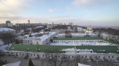 Ukraine, Kiev-Pechersk Lavra - stock footage
