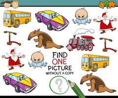 Educational kindergarten task Stock Illustration