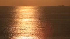 Mediterrenean Sunset Stock Footage