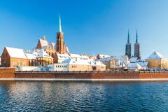 Wroclaw. Cathedral of St. John - stock photo