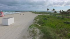 Aerial video Miami Beach Stock Footage