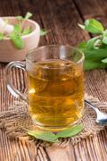 Cup of Tea (Sage) Stock Photos