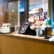 Blurred background of restaurant bar Kuvituskuvat