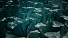 Abstract changing surface in dark color Stock Footage