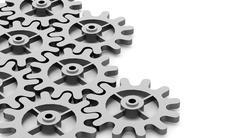 Stock Illustration of Gears mechanism concept