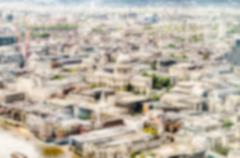 Defocused Backgroud with Aerial View of London, UK. Intentionally blurred pos Kuvituskuvat