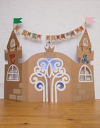 Cardboard Childrens Palace Kuvituskuvat