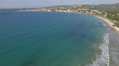 Bay of Bandol, Vars, France – view by drone Stock Footage