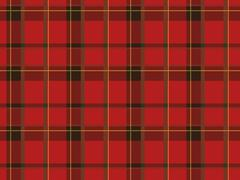 Scottish textile 2 Stock Illustration