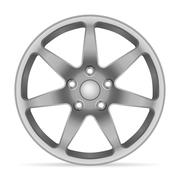 Wheel rim Stock Illustration