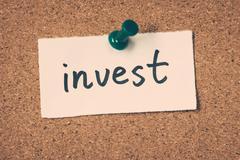 invest - stock photo
