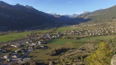 Fort village of Mont-Dauphin, fortified by Vauban, a famous military engineer, Stock Footage