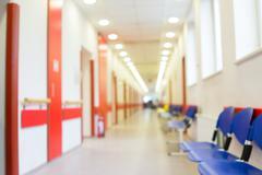 Waiting room in hospital Kuvituskuvat