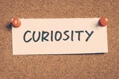 curiosity - stock photo
