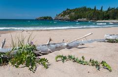 Great Lake Superior - stock photo