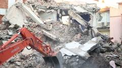 construction area 8 - stock footage