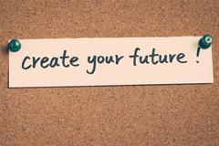 create your future - stock photo