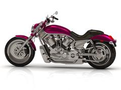 Best motorcycle bike Bright beautiful color type on white background from the Stock Illustration