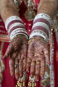 Hindu Henna - stock photo