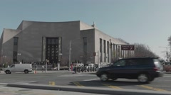 Brooklyn Public Library, Central Library, Brooklyn, New York Stock Footage