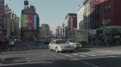 Canal Street New York, Chinatown, Tribeca, Soho, Little Italy Stock Footage