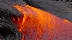 4K RAW Lava Flow By Day 52 - stock footage