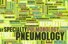 Pneumology - stock illustration
