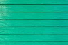 Green PVC Wood Wall Pattern - stock photo