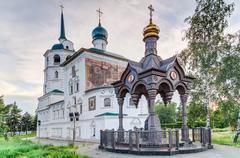 Church of the Saviour in Irkuts, Russia Stock Photos