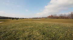 """Former Governmental Residence """"Mezhigorye"""" Golf Course Stock Footage"""