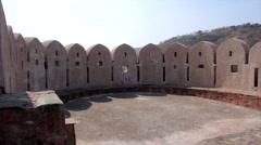 Kumbhalgarh Fort. Rajasthan. India Stock Footage