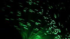 Fiber Optic Lights Wave  - stock footage