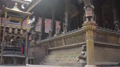 The building of the Golden Temple. Slider moution. Stock Footage