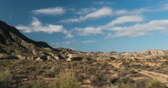 Clouds time lapse, Andalusia, Spain Stock Footage