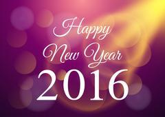 Happy New Year celebration background Stock Illustration
