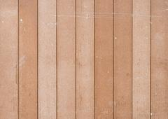 Timber battens fence - stock photo