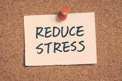 Stock Photo of reduce stress