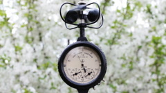 The Cup Anemometer 4 - stock footage